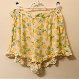 Bethany Mota Pineapple Shorts